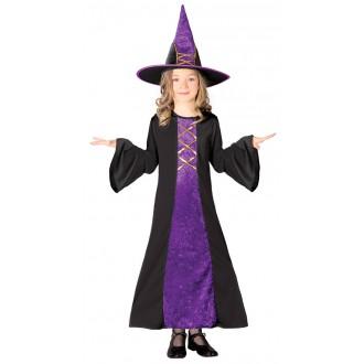Kostýmy - Fialová čarodějnice