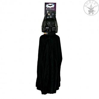 Kostýmy na karneval - Batman maska+plášť (5482) - licenční kostým