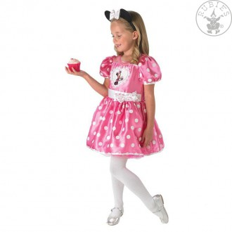 Kostýmy - Minnie Mouse Pink Cupcake - Child