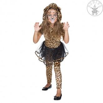 Kostýmy - Leopardí dívka