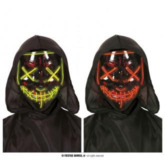 Doplňky - Maska s led osvětlením