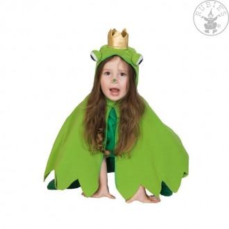 Kostýmy na karneval - Žabka pelerína