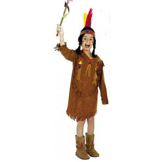 Kostýmy - Indiánka - kostým