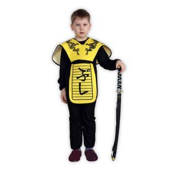 Kostýmy - Ninja žlutý