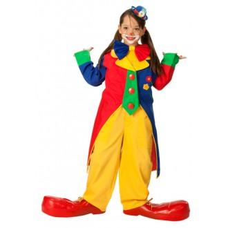 Kostýmy - Klaunský kabát dětský D
