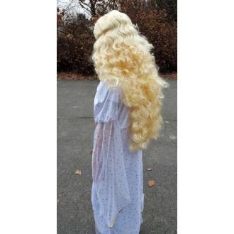Paruky - Anděl s flitry - dlouhé vlasy blond