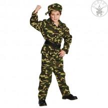 Voják - kostým s čepicí