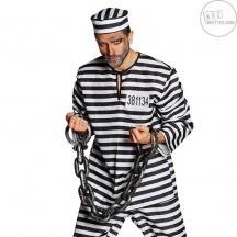 Vězeňská  okovy s řetězem