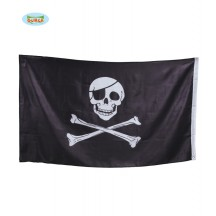 Vlajka pirátská 90 x 150 cm