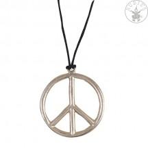 Náhrdelník - Peace prům. 65 cm