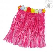 Hawai sukně růžová 50cm