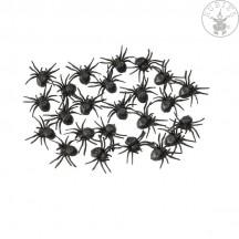 24 malých pavouků