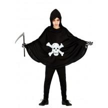 Tunika - plášť se smrtkou 10 - 12 roků