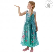 Elsa Fever Dress Frozen Child - Elsa letní kostým