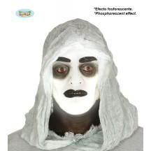 Fluoreskující maska ducha - ON