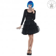 Tylová sukně Petticoat černá