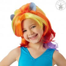 MLP Rainbow Dash Wig - dětská paruka - licence