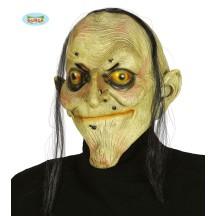 Latexová maska čaroděnice s vlasy
