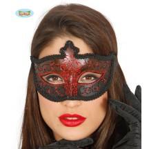 Maska dámská červená