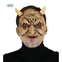 Satan - maska s rohy