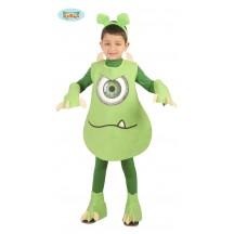 Zelené dětské monstrum