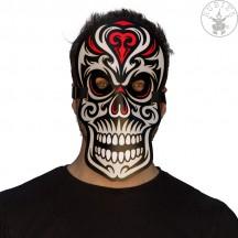 Led svítící maska Skull