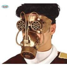 Maska - plynová maska STEAMPUNK