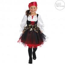 Pirátský kostým dětský s šátkem na hlavu - VADA