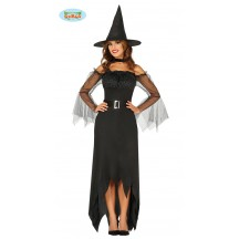 Kostým čarodejnice s tylovým rukávmi VADA