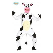 Černobílá kráva - kostým