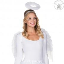 Křídla anděl péřová se svatozáří