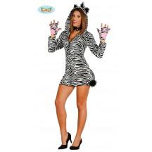 Dámský kostým zebra S